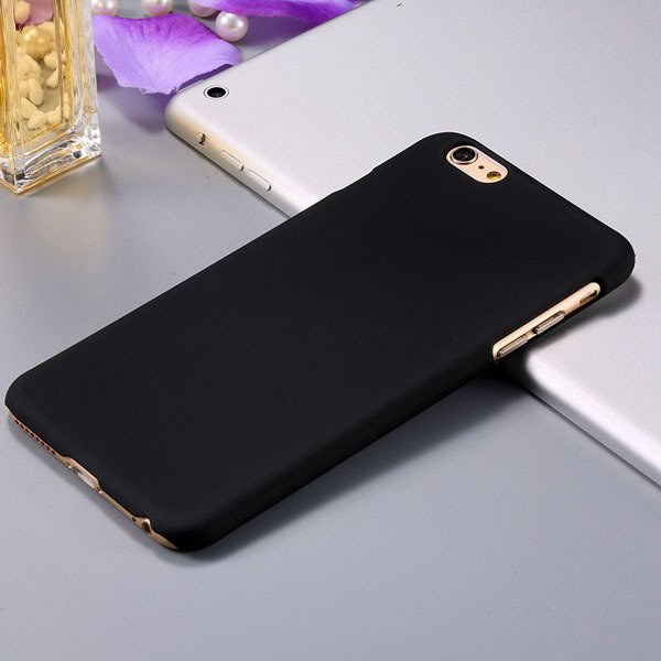 I6 Plus Back Cover Ultra Thin Slim Mat Lubricating Case For Iphone 32281093210-1-black