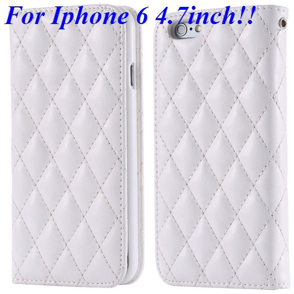 I6 Full Case Magnetic Protect Phone Case For Iphone 6 4.7Inch Flip 32261161199-2-white