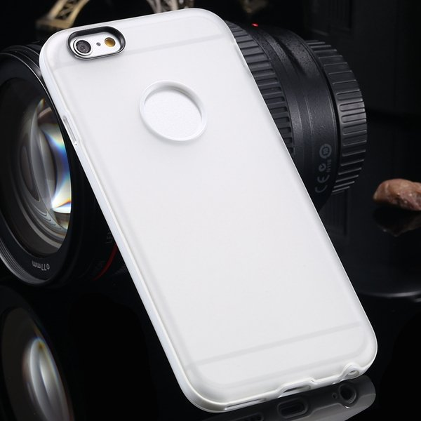 2014 Newest Clear Back Case For Iphone 6 4.7'' Cover Soft Transpar 2041294218-4-white