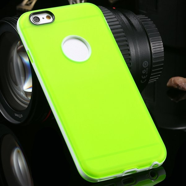 2014 Newest Clear Back Case For Iphone 6 4.7'' Cover Soft Transpar 2041294218-7-green