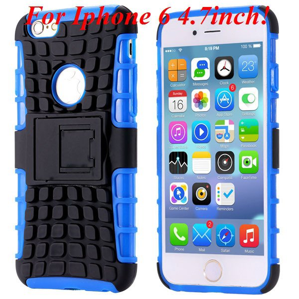 I6/6 Plus Heavy Duty Armor Case For Iphone 6 4.7Inch/5.5Inch Plus  32295600799-2-I6 blue