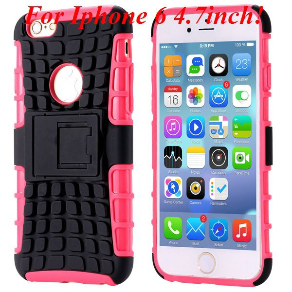 I6/6 Plus Heavy Duty Armor Case For Iphone 6 4.7Inch/5.5Inch Plus  32295600799-6-I6 pink