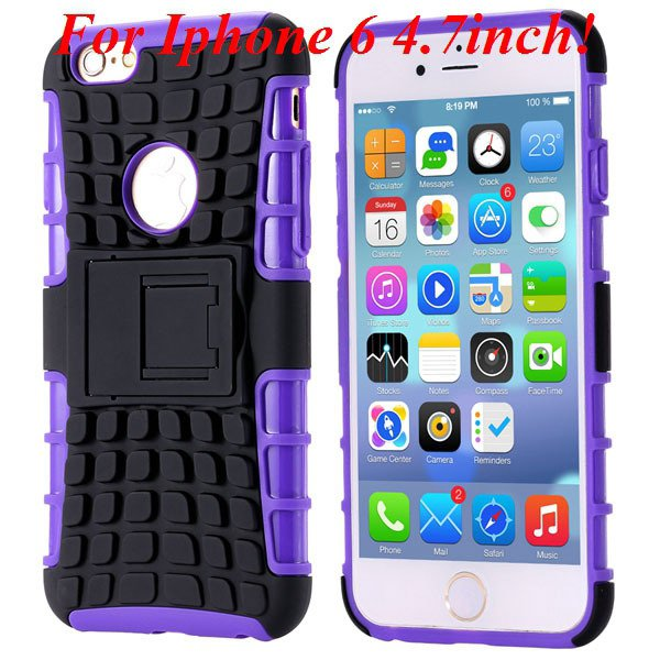 I6/6 Plus Heavy Duty Armor Case For Iphone 6 4.7Inch/5.5Inch Plus  32295600799-8-I6 purple
