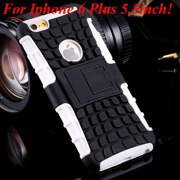 I6/6 Plus Heavy Duty Armor Case For Iphone 6 4.7Inch/5.5Inch Plus  32295600799-10-i6 Plus white