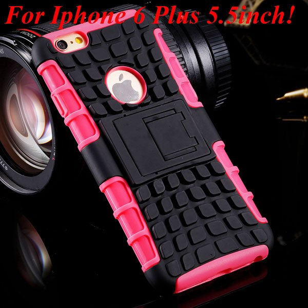 I6/6 Plus Heavy Duty Armor Case For Iphone 6 4.7Inch/5.5Inch Plus  32295600799-16-i6 Plus pink