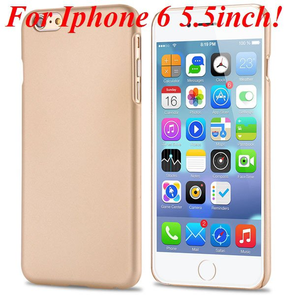 I6/6 Plus Slim Case Mat Lubricating Smooth Back Cover For Iphone 6 32281037773-4-gold for 6 Plus