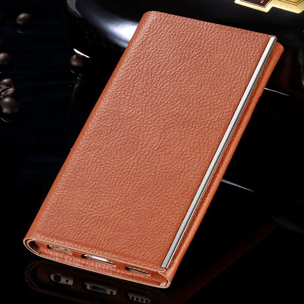 I6 Pu Leather Case Milan Fashion Tendon Cover For Iphone 6 4.7Inch 32260858988-1-brown