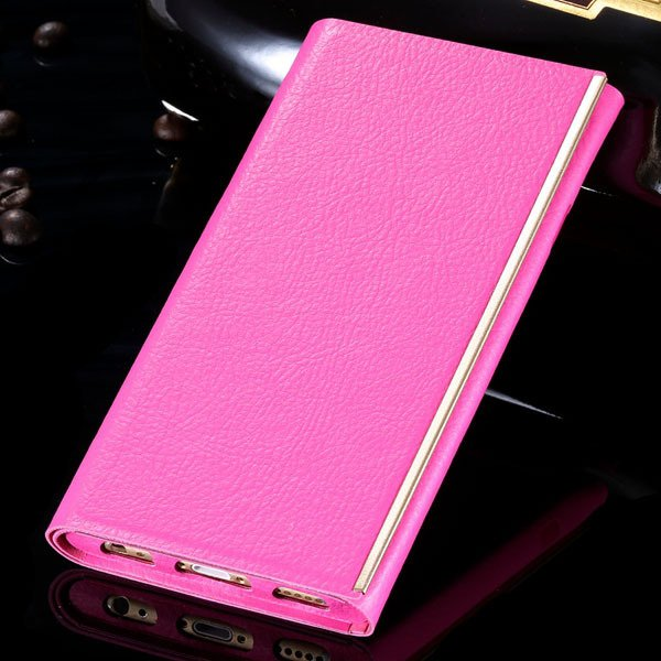 I6 Pu Leather Case Milan Fashion Tendon Cover For Iphone 6 4.7Inch 32260858988-2-hot pink