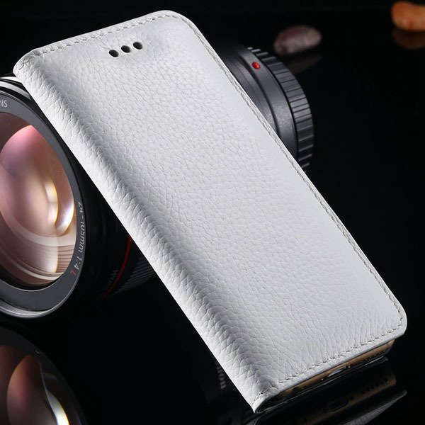 I6 Plus Genuine Leather Case For Iphone 6 Plus 5.5Inch Mobile Phon 32236429737-4-white
