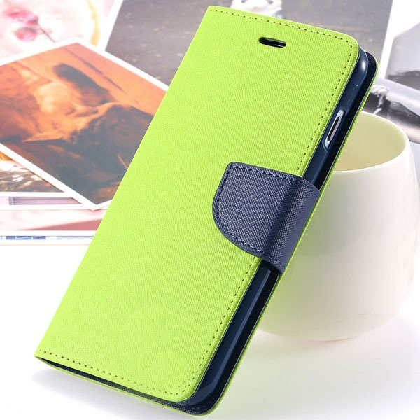 Fashion Wallet Pu Leather Case For Iphone 6 Plus 5.5Inch Full Phon 32250764196-3-green