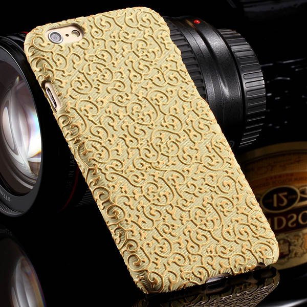 Noble Royal Palace Special Structure Pu Leather Cover For Iphone 6 32242498722-3-yellow