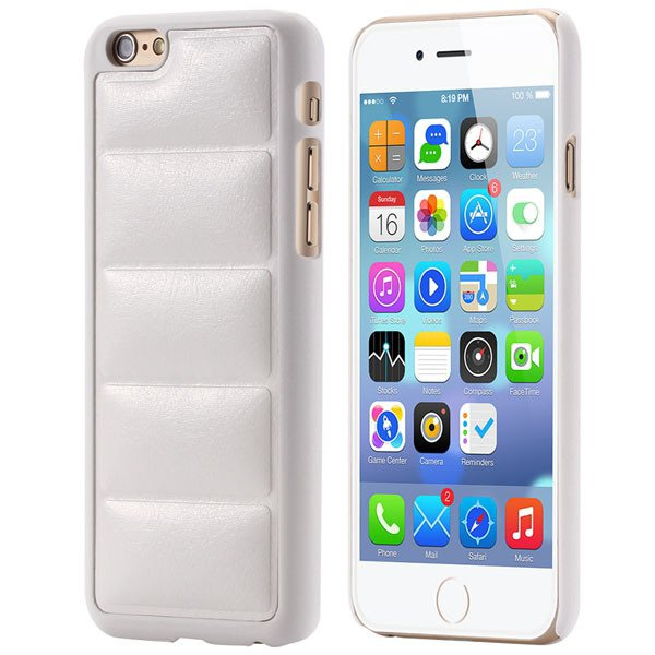Ultra Slim Sofa Grain Soft Case For Iphone 6 4.7Inch Pu Leather Ph 32242323360-2-white