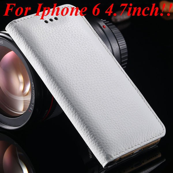 I6 Genuine Leather Cover Full Protect Case For Iphone 6 4.7Inch Ce 32236840462-3-white