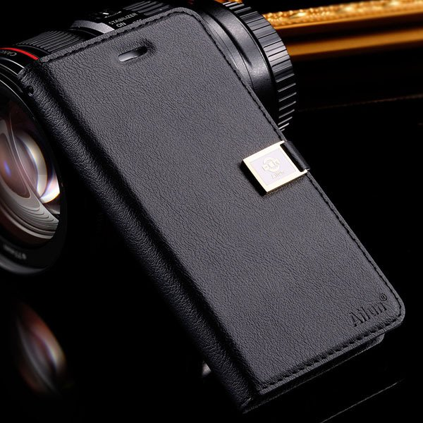 I6 Plus Full Protect Case For Iphone 6 Plus 5.5Inch Flip Cell Phon 32229045980-1-black