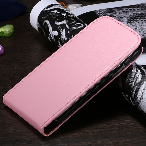 S3 Flip Case Genuine Leather Cover For Samsung Galaxy Siii S3 I930 1790508021-3-pink