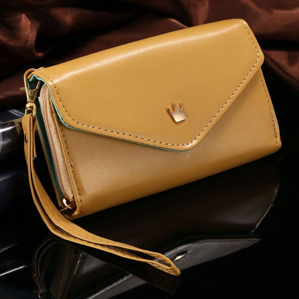 Mini Handbag Wallet Pouch Case For Samsung Galaxy S3 S4 S5 For Iph 1246250676-5-brown