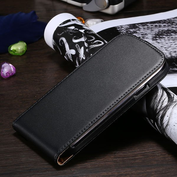 S3 Genuine Leather Case Flip Vertical Cover For Samsung Galaxy Sii 1790519925-1-black