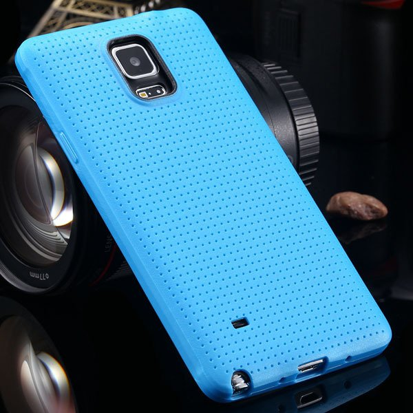 For Note 4 Tpu Case Slim Back Cover For Samsung Galaxy Note 4 Iv N 2041770146-4-blue