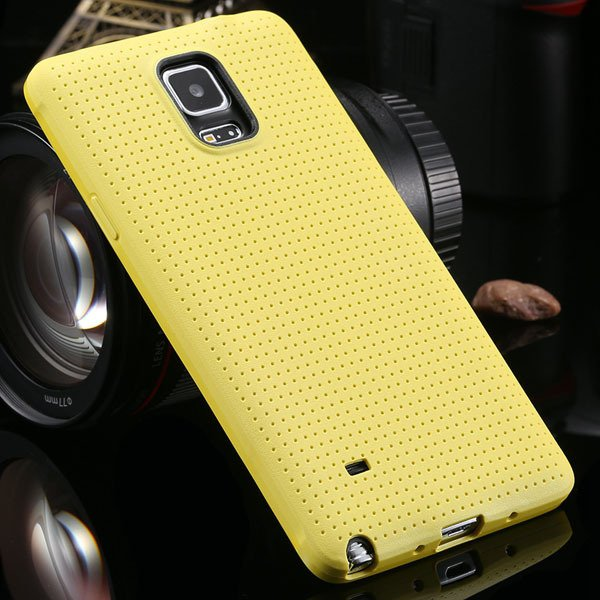 For Note 4 Tpu Case Slim Back Cover For Samsung Galaxy Note 4 Iv N 2041770146-5-yellow