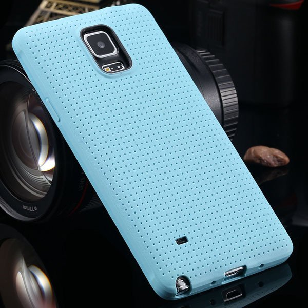 For Note 4 Tpu Case Slim Back Cover For Samsung Galaxy Note 4 Iv N 2041770146-6-light blue