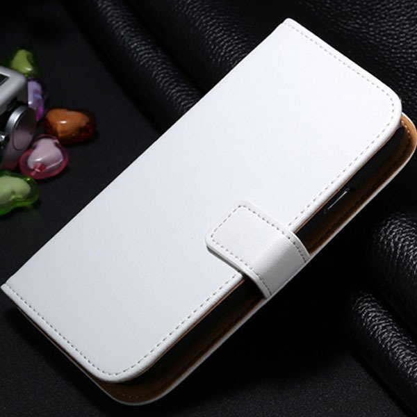 S3 Genuine Leather Case Flip Wallet Cover For Samsung Galaxy S3 Si 1772136100-2-white