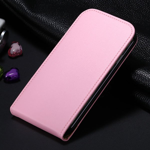 S4 Flip Genuine Leather Case Full Cover For Samsung Galaxy S4 Siv  1790450925-2-pink