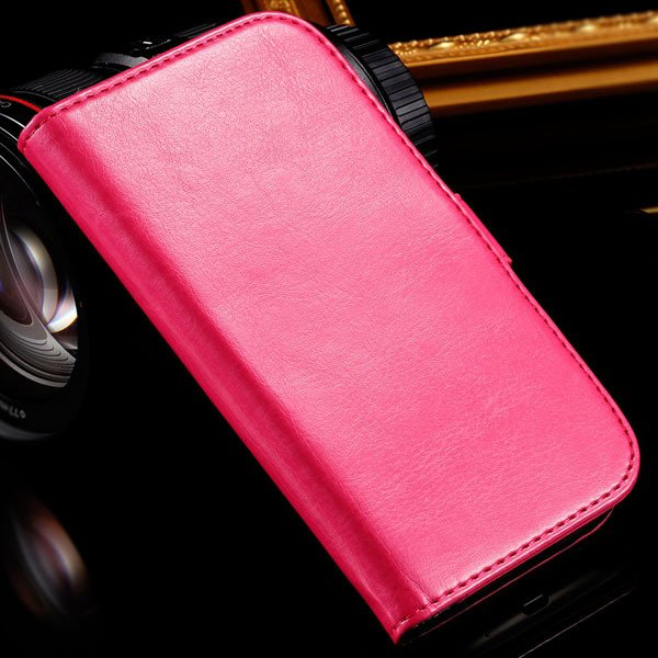 For Grand Duos I9082 Case Retro Pu Leather Cover For Samsung Galax 1064181420-5-rose