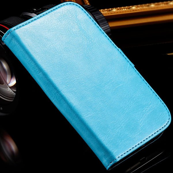 For Grand Duos I9082 Case Retro Pu Leather Cover For Samsung Galax 1064181420-6-blue