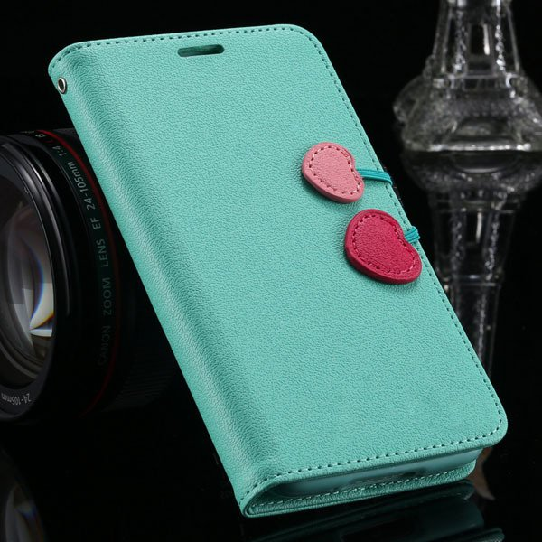 S4 Luxury Pu Leather Cover Wallet Bag With Card Slot For Samsung G 1810651625-3-mint green