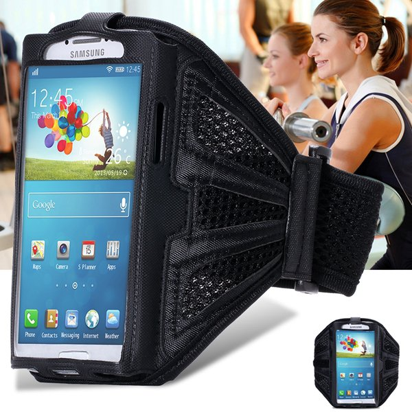 Classic Black Breath Hole Gym Exercise Sport Armband For Samsung G 32247996047-1-