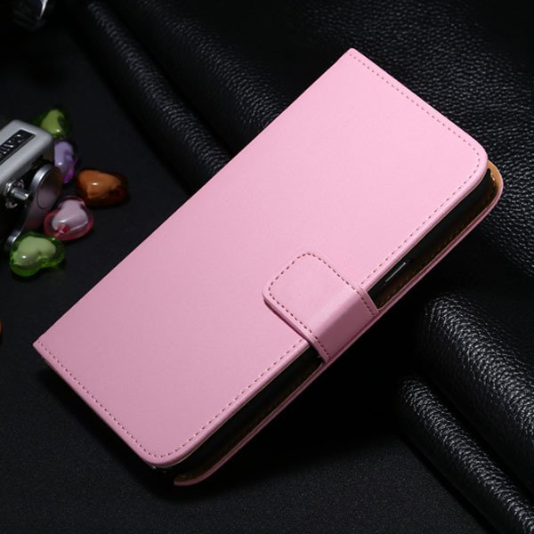 For Note 2 Genuine Leather Case For Samsung Galaxy Note 2 Ii Full  1336651278-5-pink
