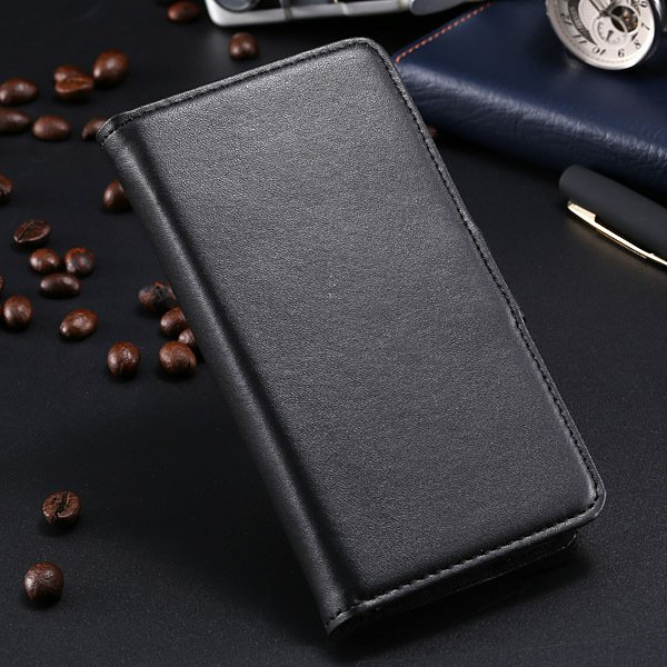 S5 Pu Leather Case For Samsung Galaxy S5 I9600 Flip Cover With Id  1790416343-1-black