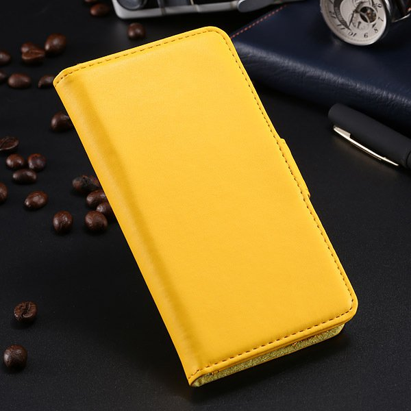 S5 Pu Leather Case For Samsung Galaxy S5 I9600 Flip Cover With Id  1790416343-7-yellow