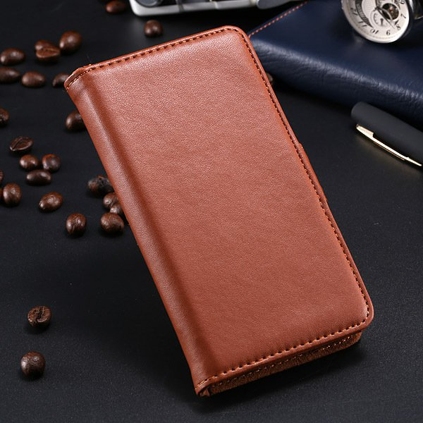 S5 Pu Leather Case For Samsung Galaxy S5 I9600 Flip Cover With Id  1790416343-10-brown