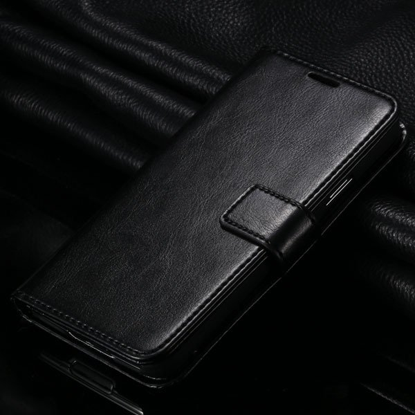 S5 Pu Leather Case For Samsung Galaxy S5 Sv I9600 Folio Flip Cover 1823146791-1-black