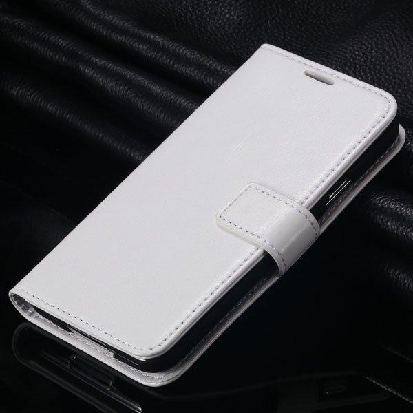 S5 Pu Leather Case For Samsung Galaxy S5 Sv I9600 Folio Flip Cover 1823146791-2-white