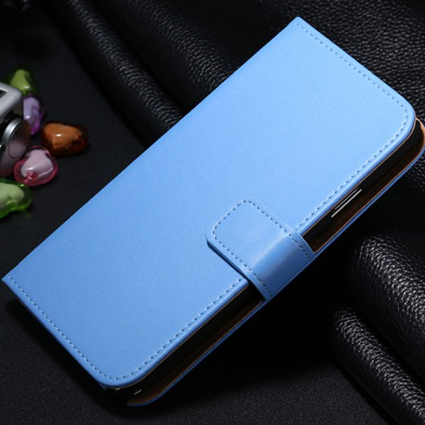 For Note 3 Genuine Leather Case For Samsung Galaxy Note 3 N9000 N7 1772279749-5-blue