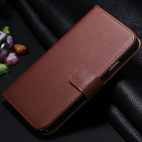 For Note 3 Genuine Leather Case For Samsung Galaxy Note 3 N9000 N7 1772279749-8-brown