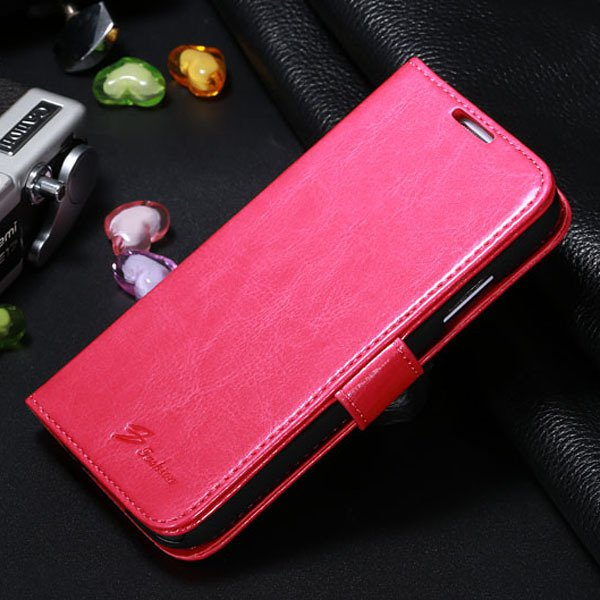 S4 Magnetic Flip Case For Samsung Galaxy S4 S Iv I9500 Full Protec 1770966738-4-pink