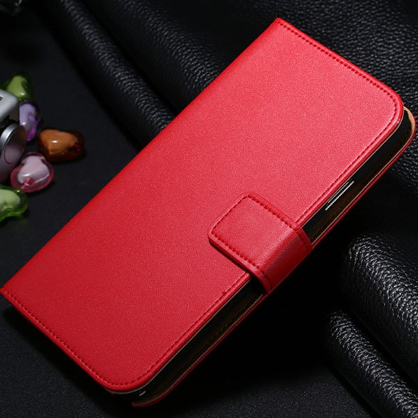 For Note 3 Magnetic Flip Leather Case For Samsung Galaxy Note 3 N9 1772288470-4-red