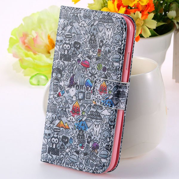 Unique Cultural Print Pattern Full Cover For Samsung Galaxy S3 Sii 32251203024-4-gray
