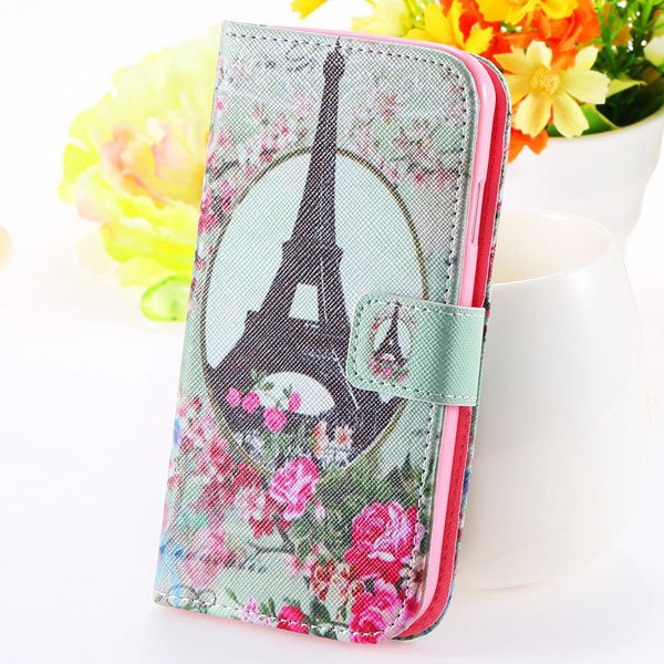 Unique Cultural Print Pattern Full Cover For Samsung Galaxy S3 Sii 32251203024-8-flower tower