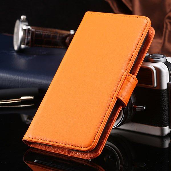 S5 Full Case For Samsung Galaxy S5 I9600 Photo Frame Wallet Book S 1747321783-2-orange