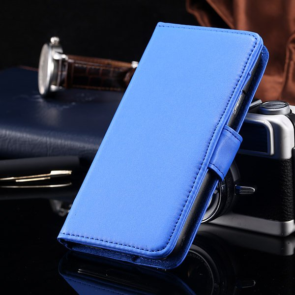 S5 Full Case For Samsung Galaxy S5 I9600 Photo Frame Wallet Book S 1747321783-6-blue