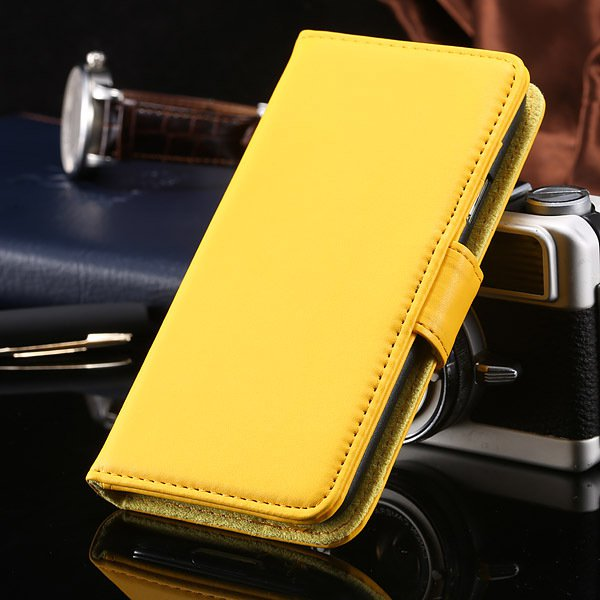 S5 Full Case For Samsung Galaxy S5 I9600 Photo Frame Wallet Book S 1747321783-7-yellow