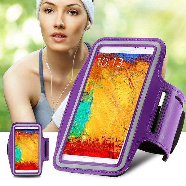 Useful Leisure Sport Armband For Samsung Galaxy Note 4/3/2/1 Phone 32245511959-1-