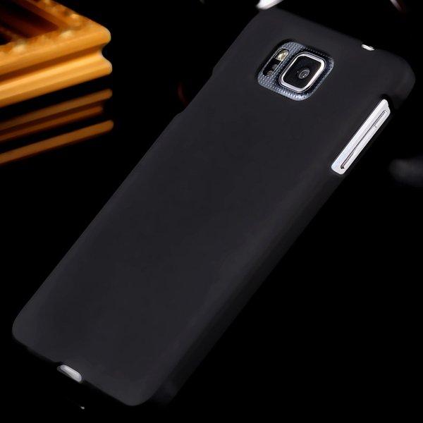 For Alpha G850 Slim Case Lubricating Mat Back Cover For Samsung Ga 32280221416-1-black