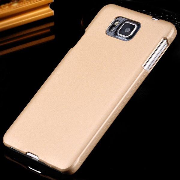 For Alpha G850 Slim Case Lubricating Mat Back Cover For Samsung Ga 32280221416-3-gold