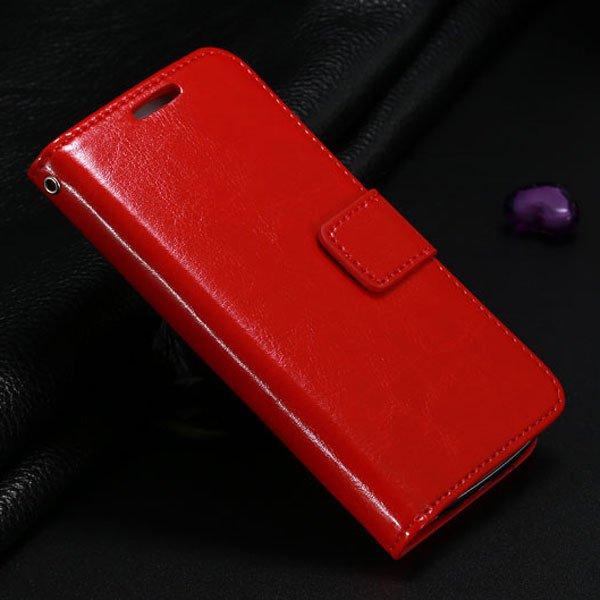 S4 Mini Pu Leather Case For Samsung Galaxy S4 Mini I9190 Full Flip 1771942375-3-red