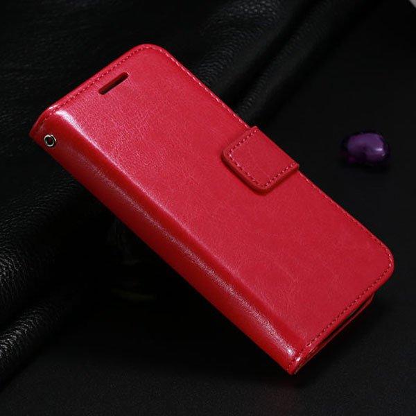 S4 Mini Pu Leather Case For Samsung Galaxy S4 Mini I9190 Full Flip 1771942375-4-hot pink